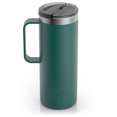 20oz Travel Mug, Forest Green, Matte Image