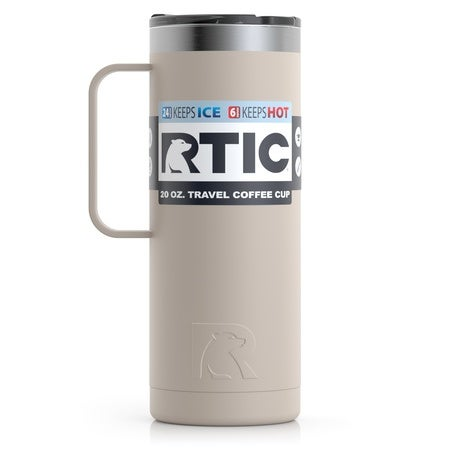 20oz Travel Mug, Beach, Matte Image