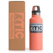 16oz Water Bottle, Coral, Matte Thumnail