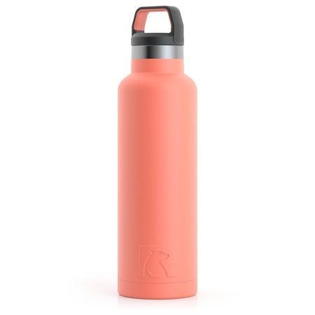 20oz Water Bottle, Coral, Matte Image
