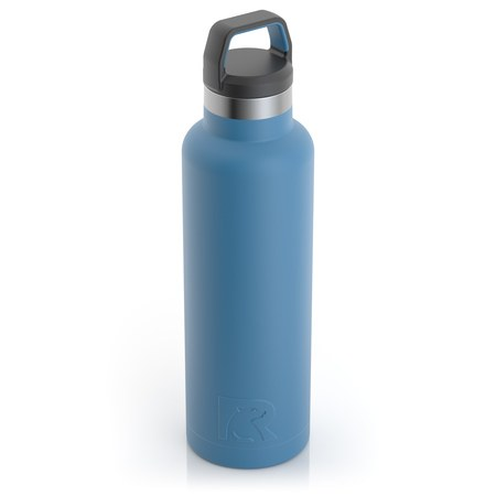 20oz Water Bottle, Slate Blue, Matte Image