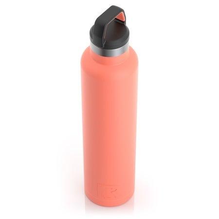 26oz Water Bottle, Coral, Matte Image