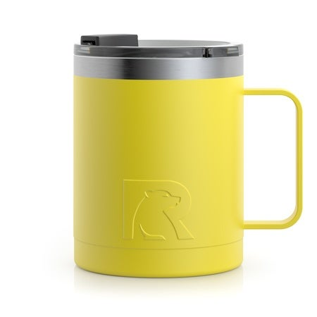 12oz Travel Mug, Sunflower, Matte Image