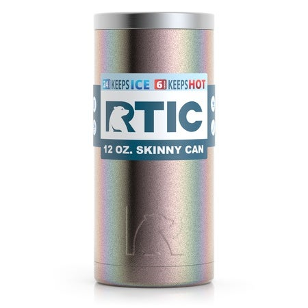 12oz Skinny Can, Twilight, Glitter Image