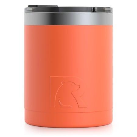 12oz Lowball Tumbler, Orange, Matte Image