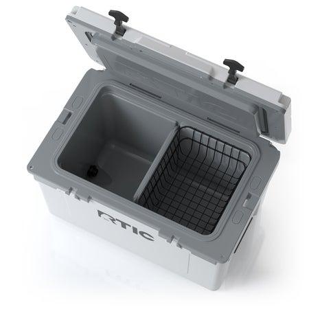 RTIC 52 Quart Ultra-Light Hard Cooler, White & Grey Image