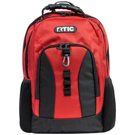 Summit Laptop Backpack, Brick & Black Image