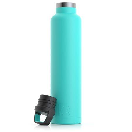 26oz Water Bottle, Teal, Matte Image